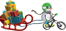 HOLIDAY BIKE GIVEAWAY